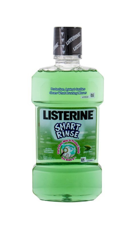 Listerine Smart Rinse (Płyn do płukania ust, K, 500ml)