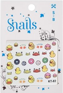 Snails, Naklejki na Paznokcie Quack Quack