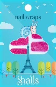 Naklejki na paznokcie, Nail Wrap – Red Carpet, czerwone