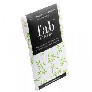 FabLittleBag™, Torebki do wyrzucania zużytych tamponów, podręczne 5 sztuk