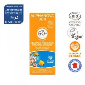 Alphanova Sun Bio Krem Przeciwsłoneczny, filtr SPF50, 50 g