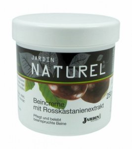 JARDIN Naturel Krem do nóg z kasztanem 250ml