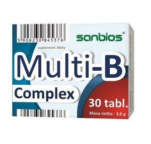 SANBIOS Multi-B-Complex 30tabl.