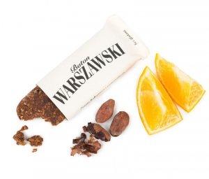 BATON WARSZAWSKI Ziarno kakaowca i pomarańcza 60g