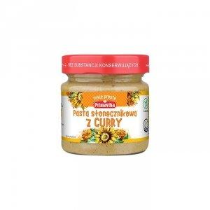 PRIMAVIKA Pasta słonecznikowa z curry 160g