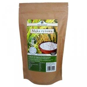 PIĘĆ PRZEMIAN Mąka ryżowa pełnoziarnista bezglutenowa 500g