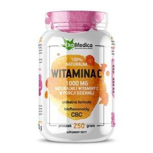 EkaMedica Witamina C CBC 100% naturalna w proszku 250g