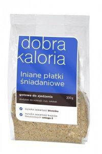 Lniane płatki śniadaniowe 200g DOBRA KALORIA - KUBARA