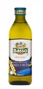 BASSO Olej z ryżu 0,5l (szkło)