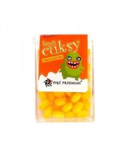 PIĘĆ PRZEMIAN Cuksy pomarańczowe z ksylitolem 13g