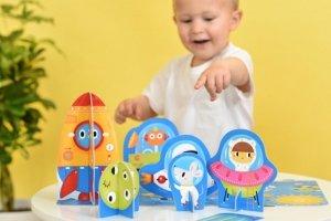 CzuCzu 6500956 Puzzle 3D 20 el. Kosmos 2+