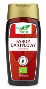 SYROP DAKTYLOWY BEZGLUTENOWY BIO 250 ml (340 g) - BIO PLANET
