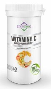 WITAMINA C (KWAS L-ASKORBINOWY) 800 mg 60 KAPSUŁEK - SOUL FARM