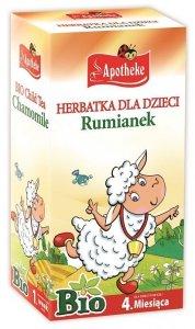HERBATKA DLA DZIECI - RUMIANKOWA BIO 20 x 1 g - APOTHEKE