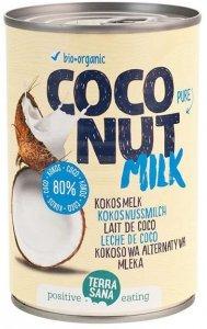 COCONUT MILK - NAPÓJ KOKOSOWY BEZ GUMY GUAR (22 % TŁUSZCZU) BIO 400 ml (PUSZKA) - TERRASANA