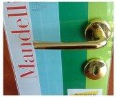 Klamka Mandelli S81 z rozetą na klucz