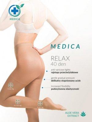 Rajstopy relaksujące grube MEDICA 40