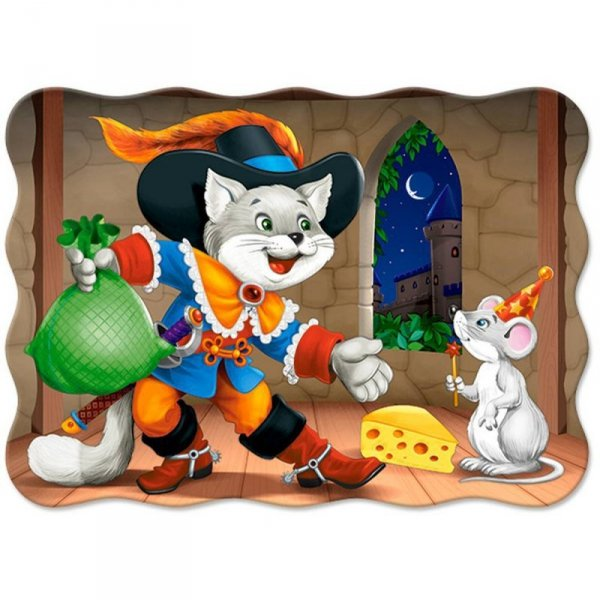 PUZZLE 30 EL. CAT IN BOOTS