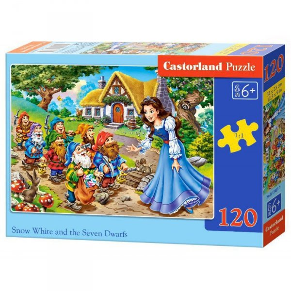 PUZZLE 120EL. SNOW WHIE AND 7