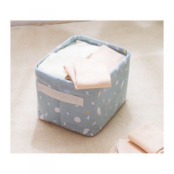 Pojemnik na zabawki kosz, worek na pranie grafit OR52SZZO