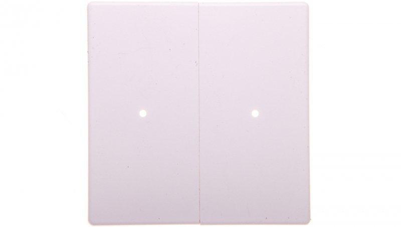 Xcomfort Klawisz 2-biegunowy biały tworzywo CWIZ-02/01-LED 126058