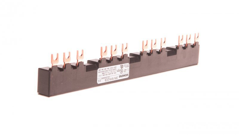 Szyna łączeniowa 3P widełkowa (12 mod.) do 4 wyłączników 3RV1915-2CB