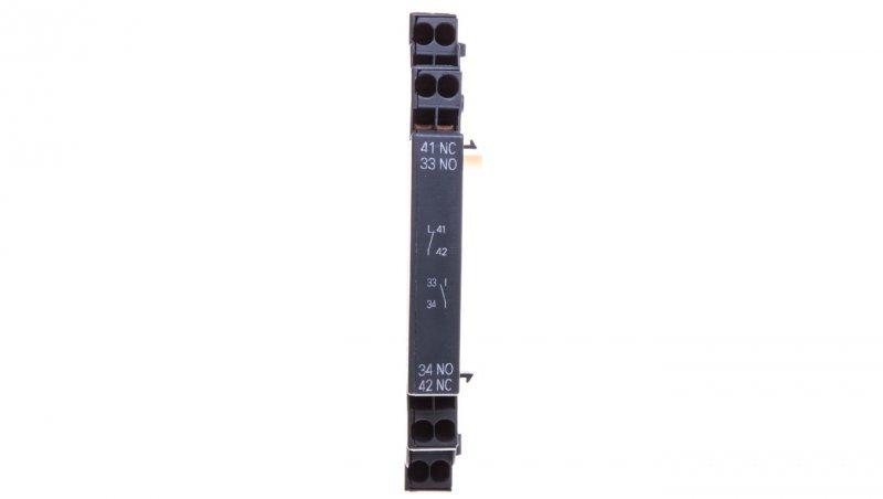 Styk pomocniczy 1Z 1R montaż boczny do wyłącznika silnikowego S00/0 3RV2901-2A