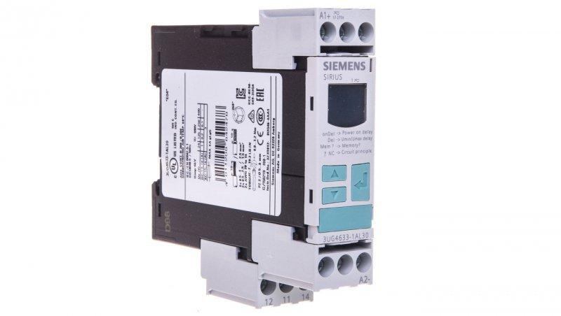 Przekaźnik kontroli napięcia 1P 17-275V AC/DC z wyświetlaczem LED 3UG4633-1AL30