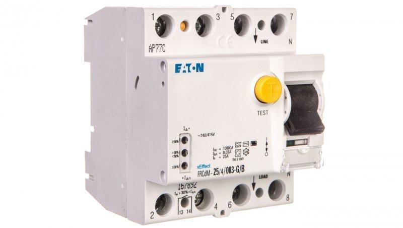 Wyłącznik różnicowoprądowy 4P 25A 0,03A typ G/B FRCdM-25/4/003-G/B 167892