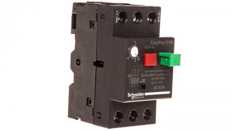 Wyłącznik silnikowy 3P 0,25kW 0,63-1A GZ1E05