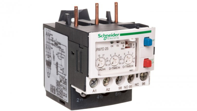 Przekaźnik elektroniczny 5-50A  4V AC/DC LR97D25B
