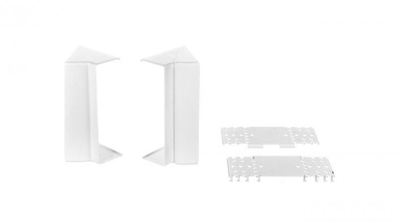 Simon Connect Regulowany kąt wewnętrzny Cabloplus 185x55mm czysta biel TKA1855507/9