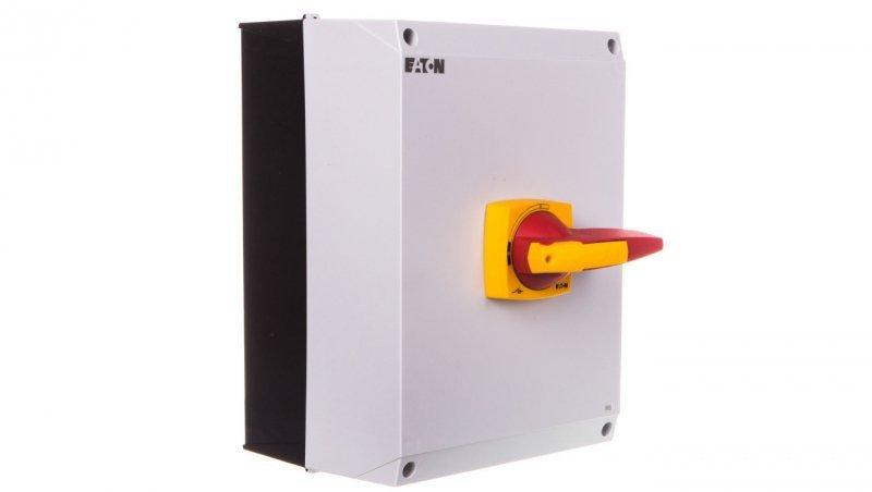 Rozłącznik izolacyjny 3P 160A z blokadą na kłódkę w obudowie IP65 DMM-160/3/I5/P-R 172794