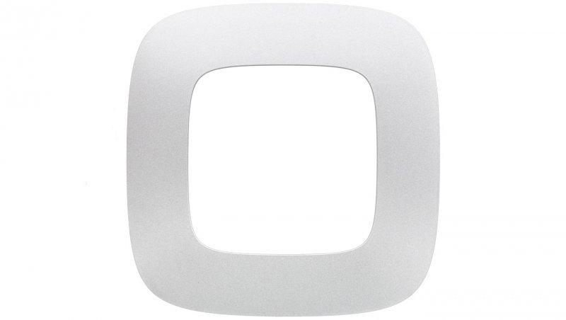 VALENA ALLURE Ramka pojedyncza aluminium 754391