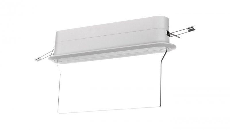 Oprawa awaryjna ARROW P LED 1W 1h jednozadaniowa AT ARP/1W/E/1/SE/AT/WH