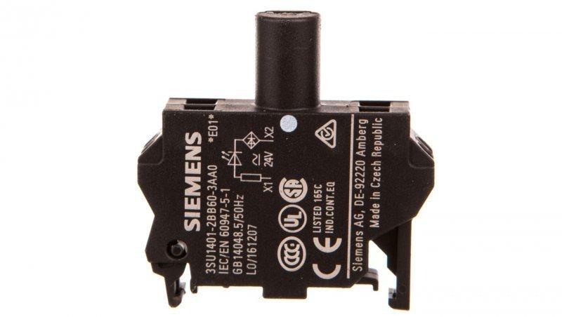 SIRIUS ACT Blok LED 24V AC/DC biały 3SU1401-2BB60-3AA0