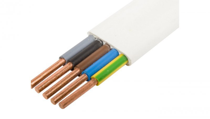 Przewód YDYp 5x2,5 żo 450/750V /50m/
