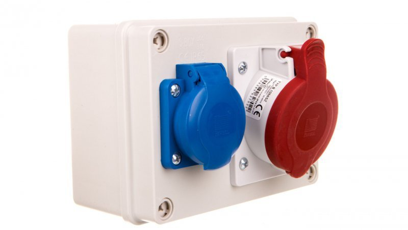 Rozdzielnica stacjonarna R-BOX 150 1x16A/5P 1x250V IP44 B.1091