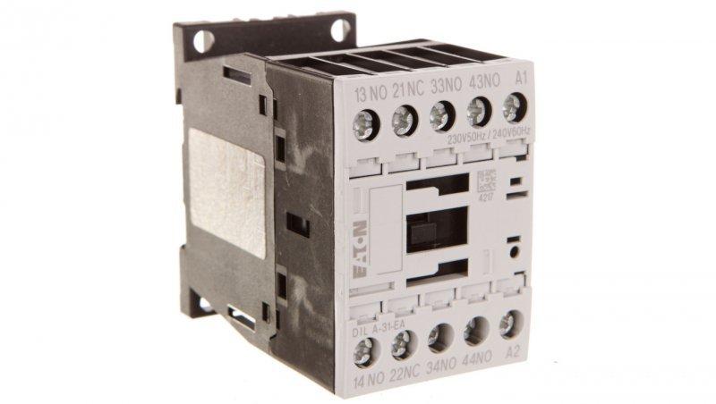 Stycznik pomocniczy 4A 3Z 1R 230V AC DILA-31-EA(230V50HZ,240V60HZ) 189957
