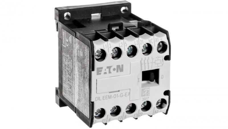 Stycznik mocy 6A 3P 24V DC 0Z 1R DILEEM-01-G-EA(24VDC) 189982