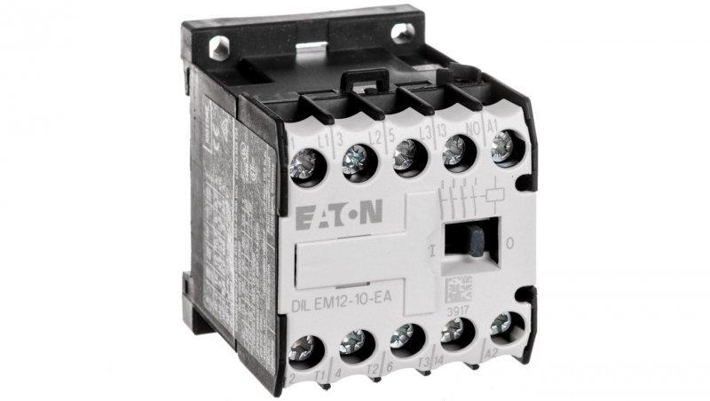 Stycznik mocy 12A 3P 230V AC 1Z 0R DILEM12-10-EA(230V50HZ,240V60HZ) 189987