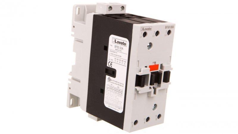 Stycznik mocy 50A AC3 3P 230V AC 0Z 0R BF5000A230