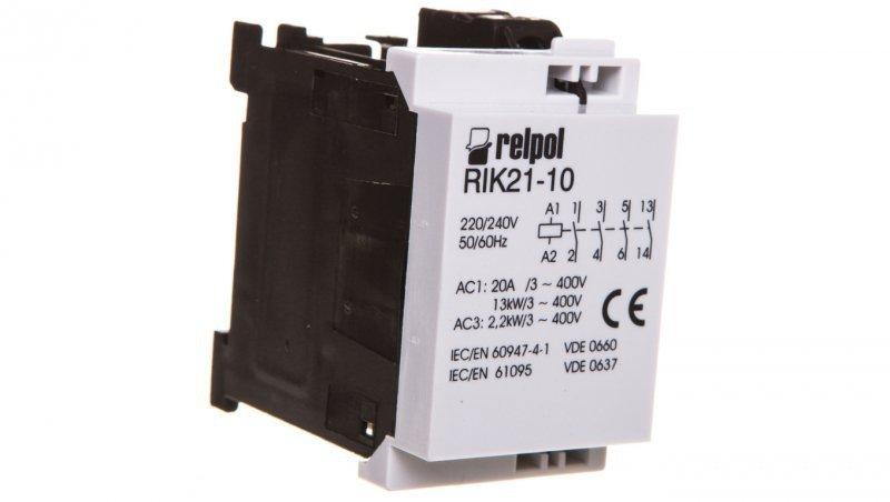Stycznik mocy 3P 230V AC 1Z 0R RIK21-10-230 2608208