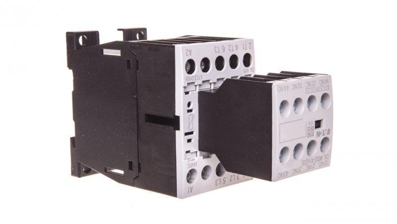 Stycznik mocy 15A 3P 24V DC 2Z 2R DILM15-22(24VDC) 106370
