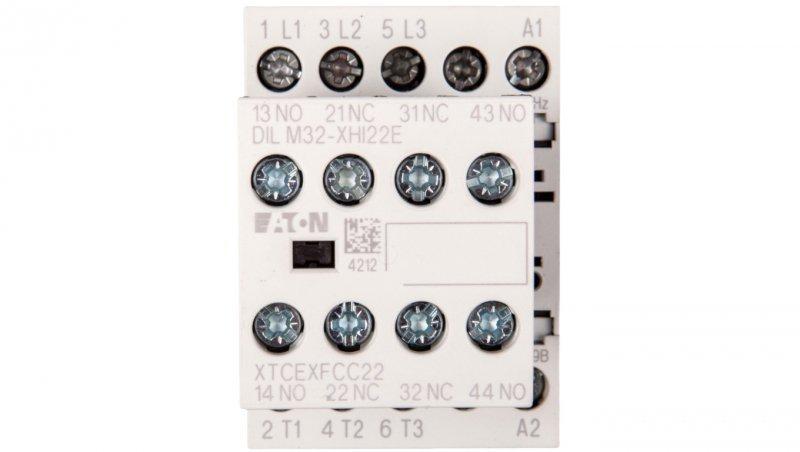 Stycznik mocy 9A 3P 230V AC 2Z 2R DILM9-22(230V50HZ,240V60HZ) 106361