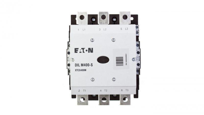 Stycznik mocy 400A 3P 230V AC 2Z 2R DILM400-S/22(220-240V50/60HZ) 274196