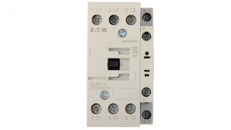 Stycznik mocy 17A 3P 24V AC 1Z 0R DILM17-10(24V50/60HZ) 277008