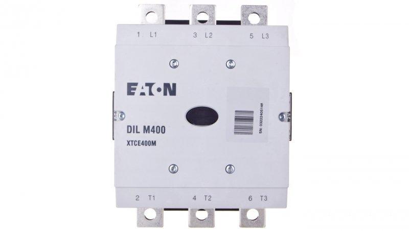 Stycznik mocy 400A 3P 110-250V AC/DC 2Z 2R DILM400/22(RA250) 208209