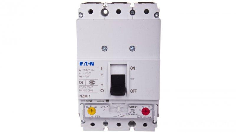 Wyłącznik silnikowy 3P 30kW 50-63A NZMB1-M63 265712