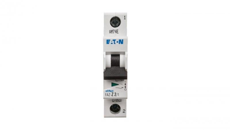 Wyłącznik nadprądowy 1P Z 2A 15kA AC FAZ Z2/1 278620